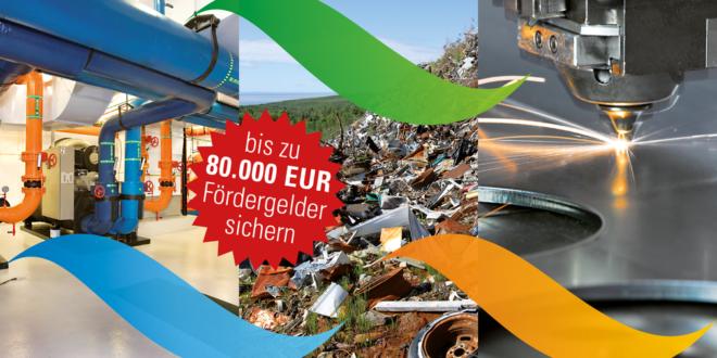 1,1 Millionen Euro für die Förderung ressourcenschonender Technologien