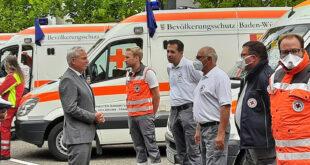 Zusätzliche Rettungskräfte nach Rheinland-Pfalz geschickt