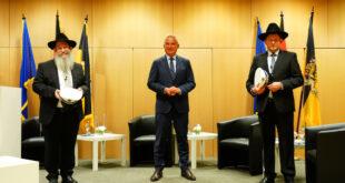 Bundesweit erste Polizeirabbiner ins Amt eingeführt