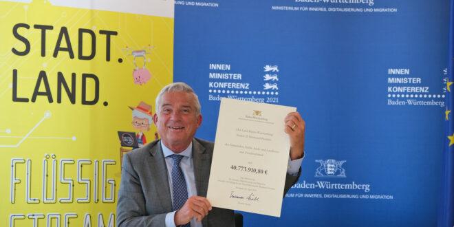 40,7 Millionen Euro für den Breitbandausbau