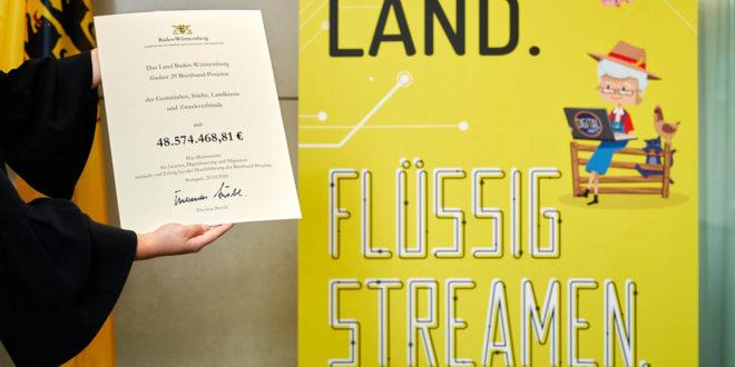 48,5 Millionen Euro für den Breitbandausbau