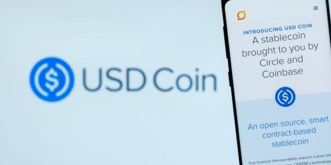 61% der USDC-Münzen werden in bar gehalten