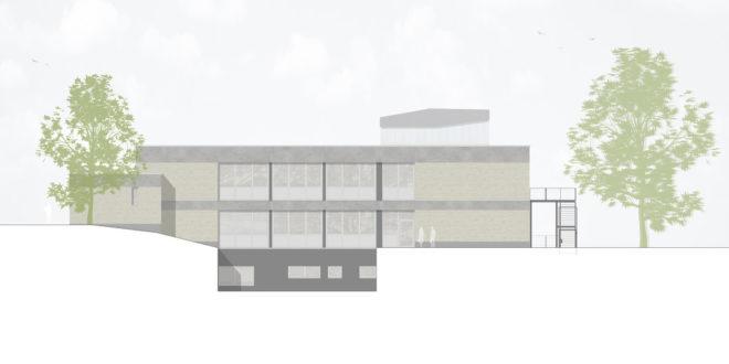 Allgemeine Renovierung des Gebäudes D an der Universität Heilbronn