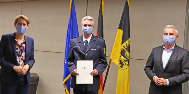 Andreas Renner zum neuen Polizeiinspektor ernannt