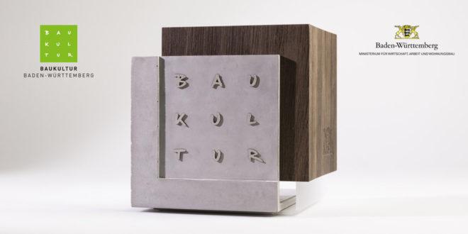 Ausstellung für den Staatspreis für Baukultur in Karlsruhe