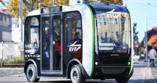 Projekt zum autonomen Fahren im Nahverkehr in zweiter Phase gestartet