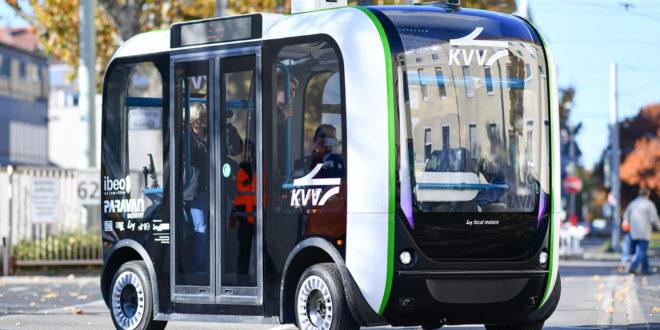 Autonome Busse in Waiblingen