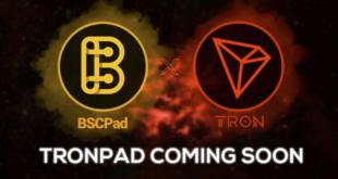 BSCPad und TRON schließen sich zusammen, um TRONPAD zu starten