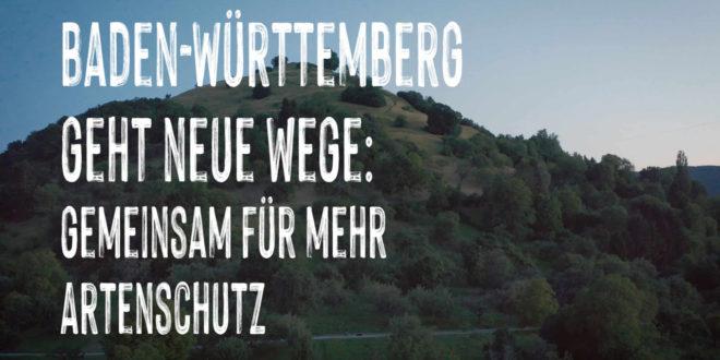 Baden-Württemberg geht neue Wege - gemeinsam für mehr Artenschutz