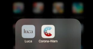 Luca App zur Kontaktverfolgung