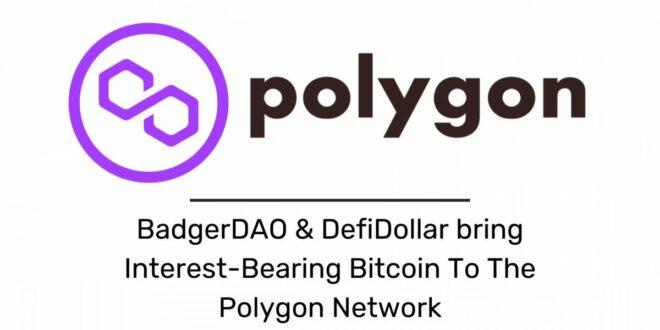 BadgerDAO & DefiDollar bringen zinstragendes Bitcoin in das Polygon-Netzwerk