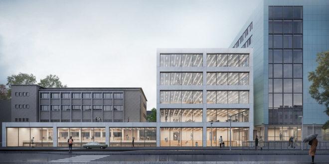 Baubeginn für das Mechatronikzentrum am KIT