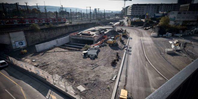 Die Umleitung führt über den bereits fertigen neuen S-Bahn-Tunnel. Foto: Lichtgut/Achim Zweygarth