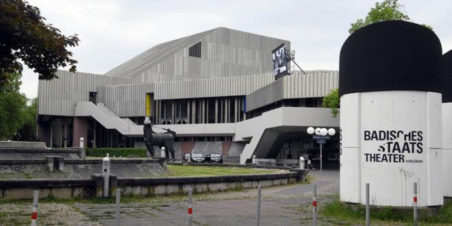 Beratung bei der Erweiterung und Renovierung des badischen Landestheaters