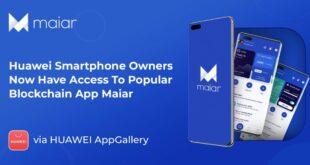 Besitzer von Huawei-Smartphones haben jetzt über die AppGallery Zugriff auf die beliebte Blockchain-App Maiar