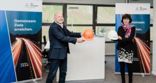 Besuch der südwestlichen Niederlassung der Autobahn GmbH der Bundesregierung