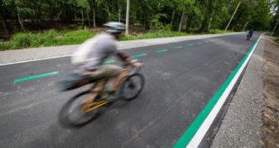 Bevorzugte Straße für den schnellen Radweg zwischen Esslingen und Reichenbach