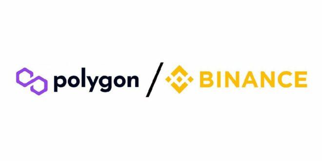 Binance.com integriert Polygon Mainnet vollständig für Ein- und Auszahlungenpoly