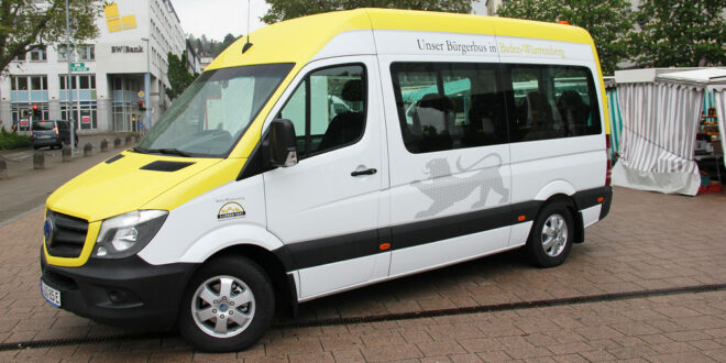 Bürgerbusse sorgen für klimafreundliche Mobilität und eine lebendige Gemeinschaft