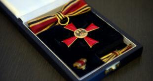 Bundesverdienstkreuz für Prof. Dr. Volkert Vorwerk