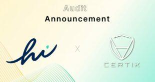CertiK schließt erfolgreiches Audit von Hi Dollar Smart Contract ab