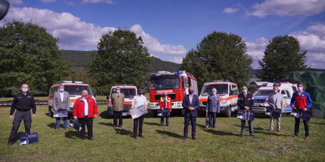 Corona-Hilfe für den Katastrophenschutz