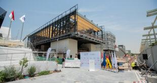 Das Baden-Württemberg-Haus feiert auf der Expo Dubai das Richtfest