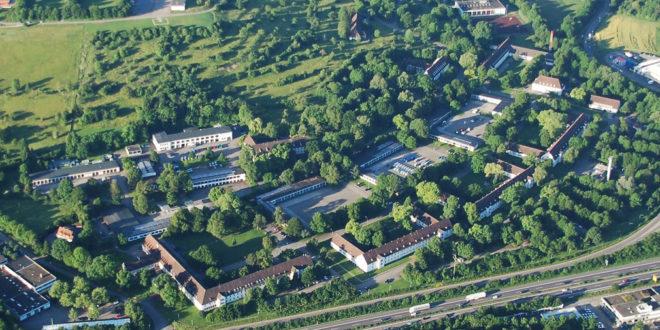 Das Polizeipräsidium in Göppingen wird derzeit renoviert