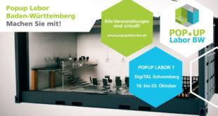 Das Popup-Labor in Schramberg findet virtuell statt