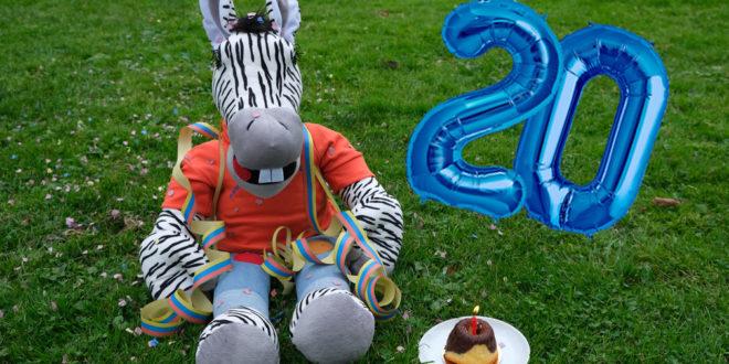 Das kleine Zebra feiert sein 20-jähriges Bestehen