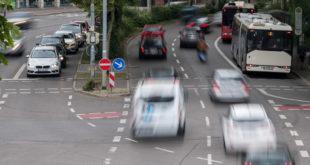 Projekt zur digitalen Verkehrszählung auf der B 27