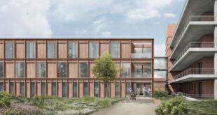 Der Holzneubau der Frauenklinik Tübingen wird zum Pilotprojekt