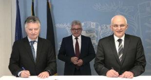 Der Ombudsmann der Opfer und der WEISSER RING unterzeichnen eine Kooperationsvereinbarung