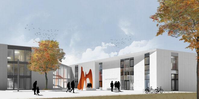 Der Umbau und Ausbau des Amtsgerichts Böblingen beginnt