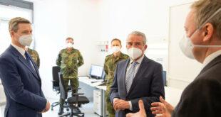 Die Bundeswehr hilft bei der Bekämpfung von Pandemien