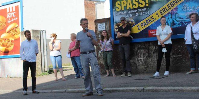 Im September gab es vor Ort eine Bürgerwerkstatt. Foto: Tilman Baur