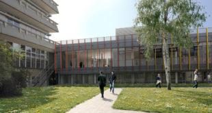 Die Renovierung der Kantine an der Universität Ulm beginnt