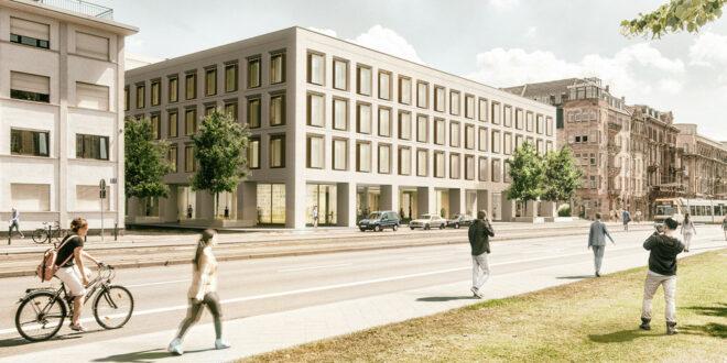 Die Renovierung des Finanzamtes in Mannheim beginnt