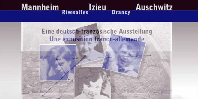 """Die Wanderausstellung """"Mannheim-Izieu-Auschwitz"""" wird eröffnet"""