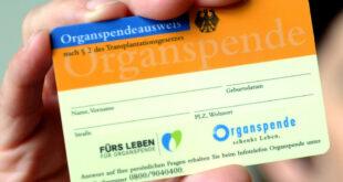 Die Zahl der Organspenden im Land sinkt