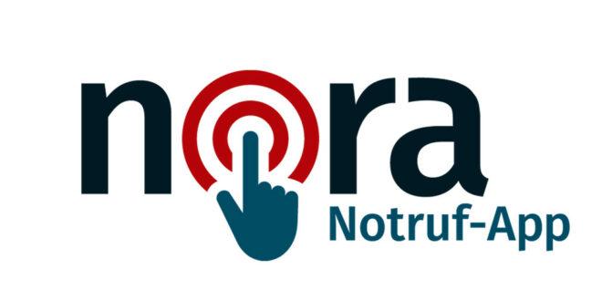 Einführung der nora Notruf-App