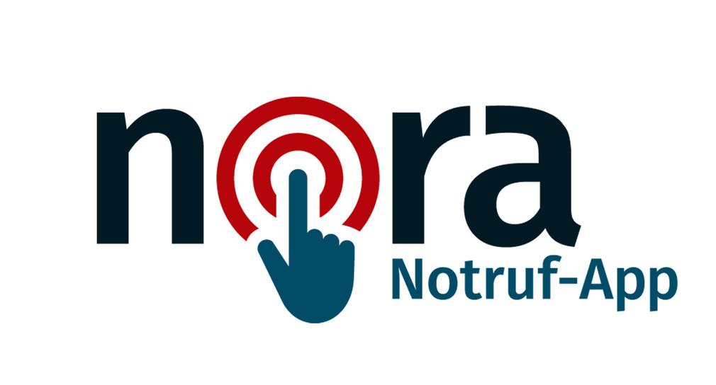 Logo der nora Notruf-App, Urheber: Innenministerium des Landes Nordrhein-Westfalen