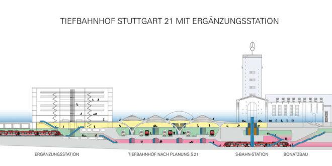 Ergänzungsbahnhof zu Stuttgart 21 laut Gutachten technisch machbar