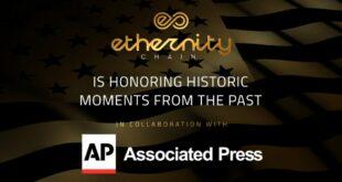 Ethernity veröffentlicht Limited Edition Authenticated NFT in Zusammenarbeit mit The Associated Press (AP)