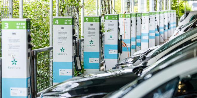 Förderung einer intelligenten Netzwerkverbindung von Parkhäusern und Tiefgaragen