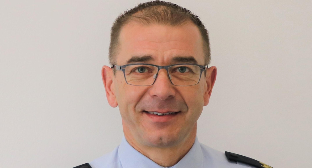 Leiter des Polizeipräsidiums Einsatz Anton Saile