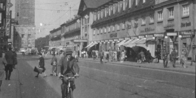 """Titelbild des Magazins """"Stuttgart 1942"""" – eine Leserin machte darauf eine unglaubliche Entdeckung. Foto: Stadtarchiv Stuttgart"""
