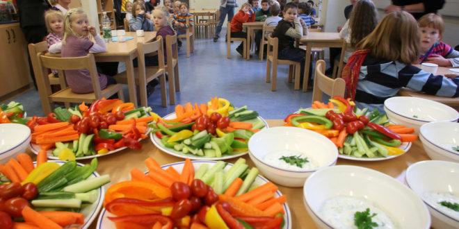 Gesunde Ernährung in Kindertagesstätten und Schulen
