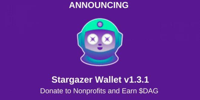Givebox lässt sich in Stargazer Wallet integrieren