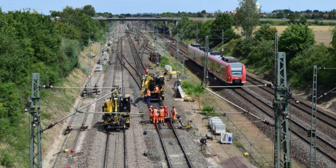 Hochgeschwindigkeitsstrecke Mannheim-Stuttgart wieder in Betrieb